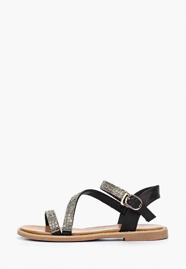 женские сандалии chezoliny, черные