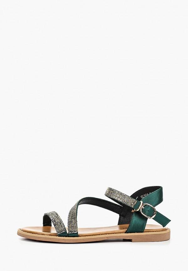женские сандалии chezoliny, зеленые