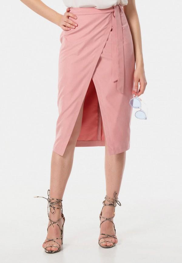 женская прямые юбка fly, розовая