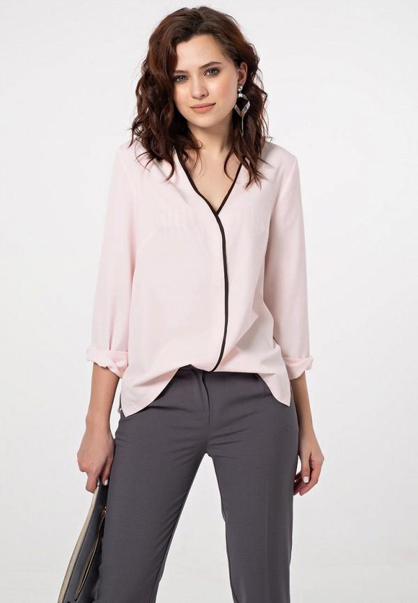 женская блузка fly, розовая