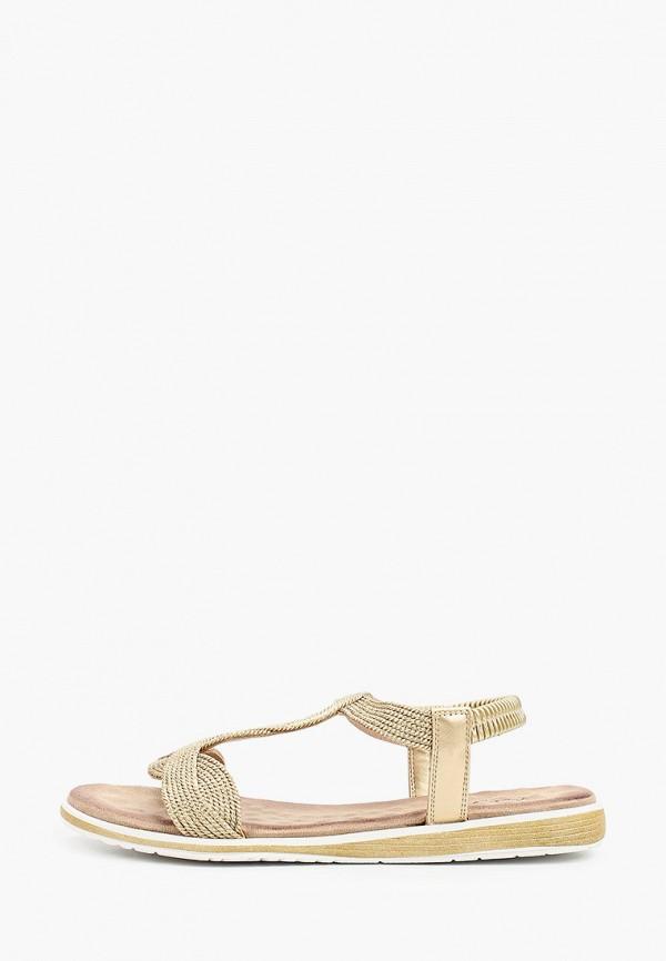 женские сандалии bridget, золотые