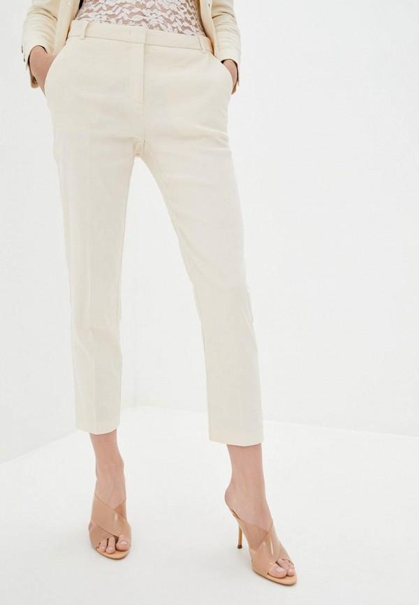 женские повседневные брюки frankie morello, бежевые