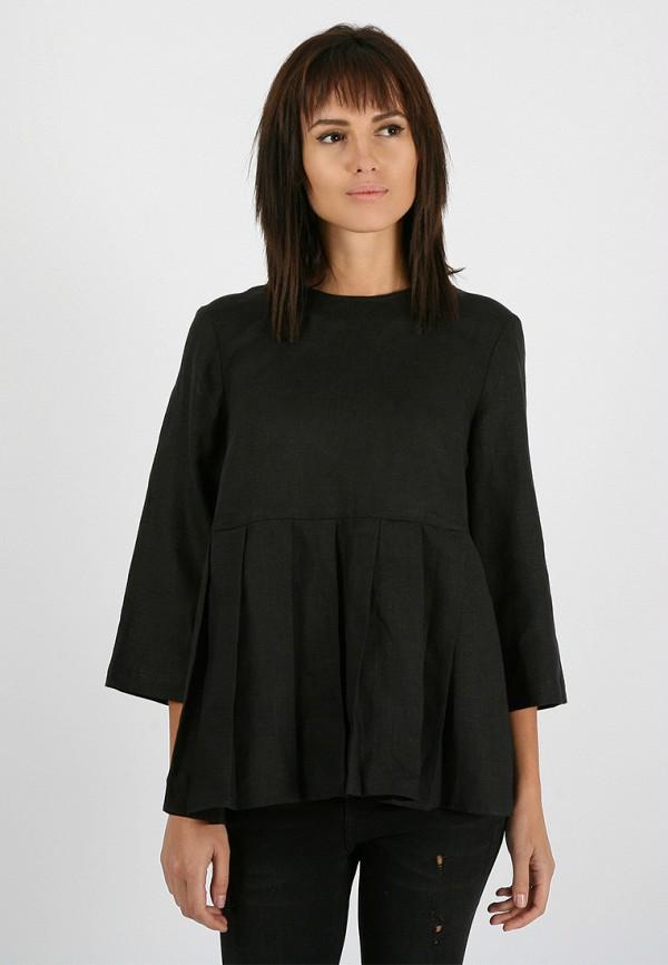 женская блузка morandi, черная