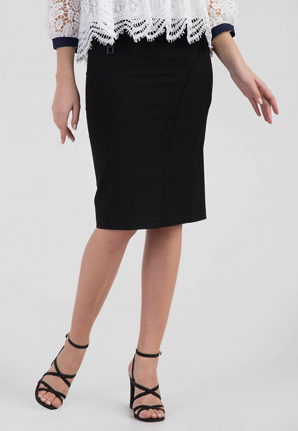женская зауженные юбка das, черная