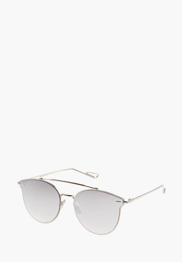 женские солнцезащитные очки vittorio richi, серебряные