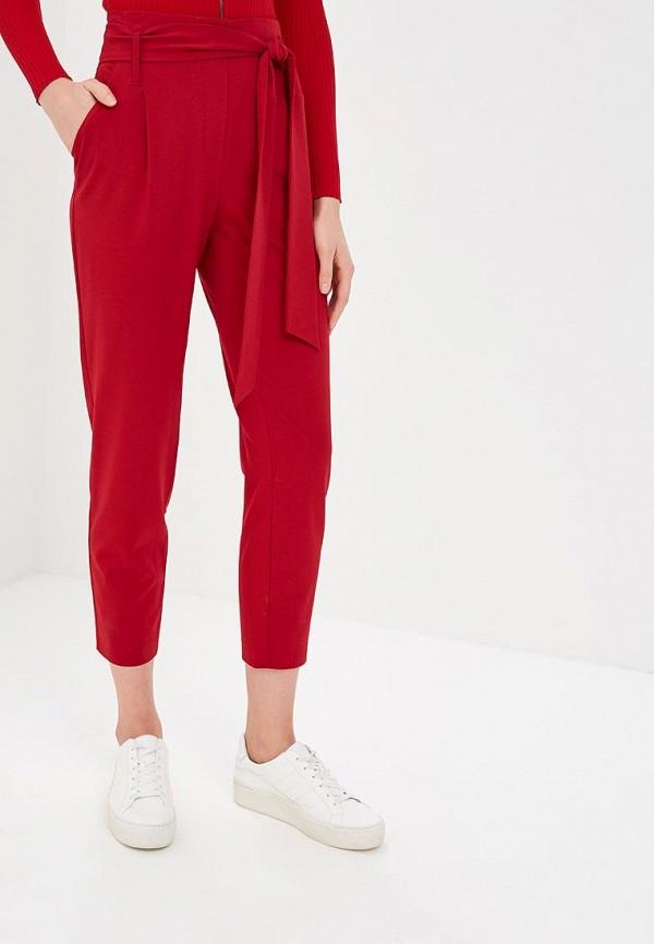 женские брюки raya, красные