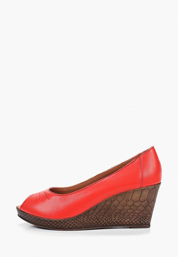 женские туфли shoiberg, красные