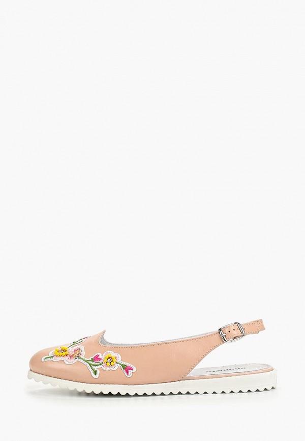 женские туфли shoiberg, розовые