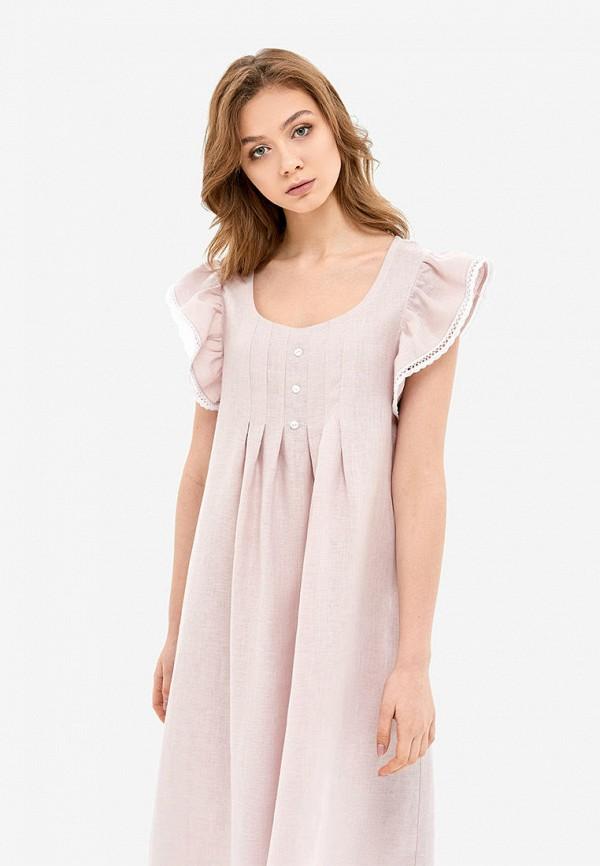 женские сорочка ночная morandi, розовые