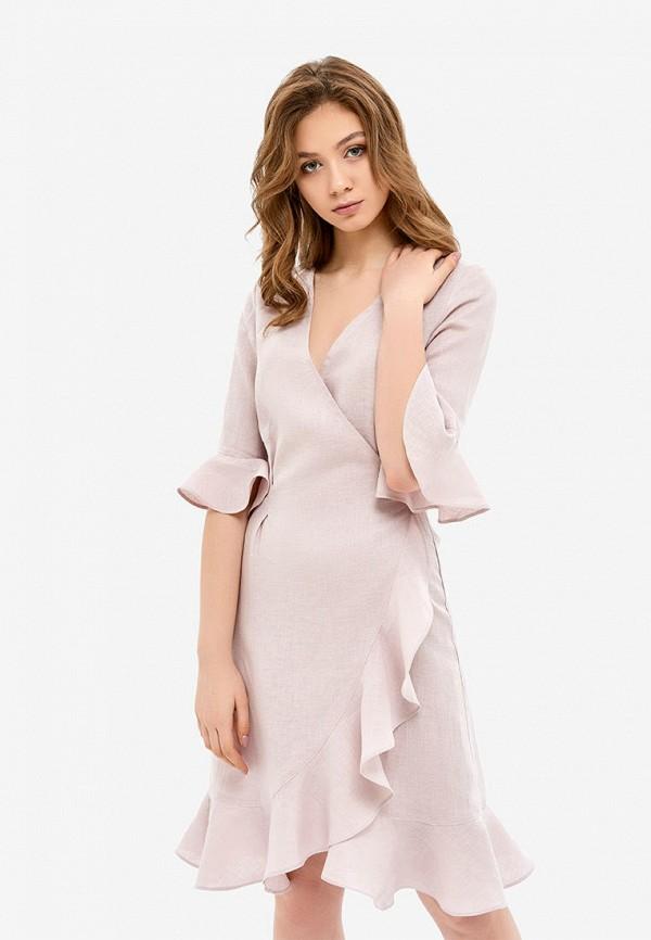 женский халат morandi, розовый