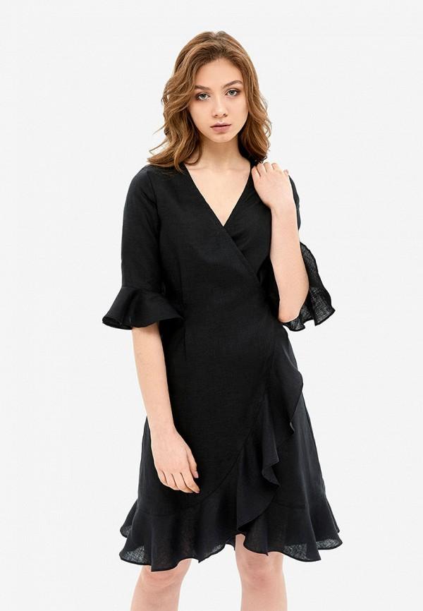 женский халат morandi, черный