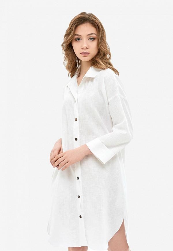 женское платье morandi, белое