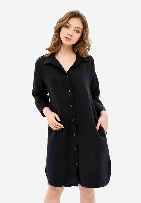 женское платье morandi, черное