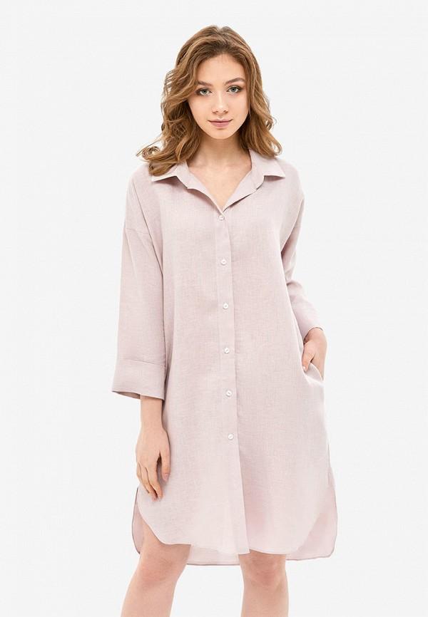 женское платье morandi, розовое