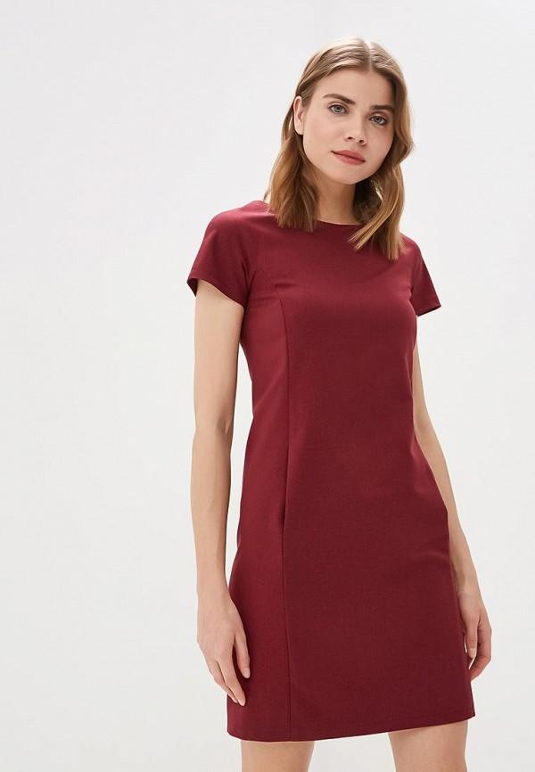 женское повседневные платье gregory, бордовое