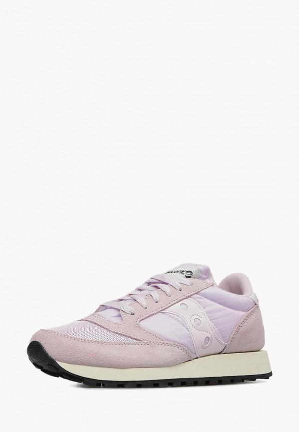 женские кроссовки saucony, розовые