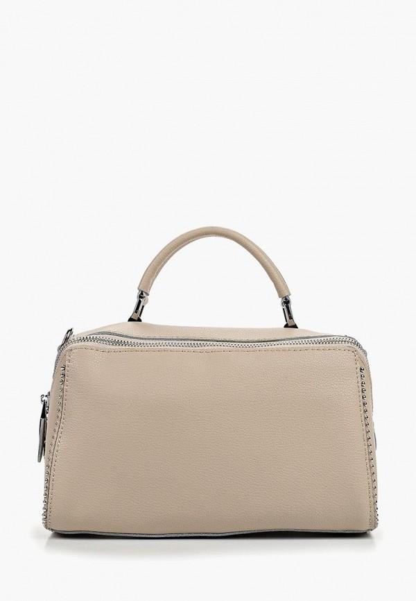 женская сумка labella vita, бежевая