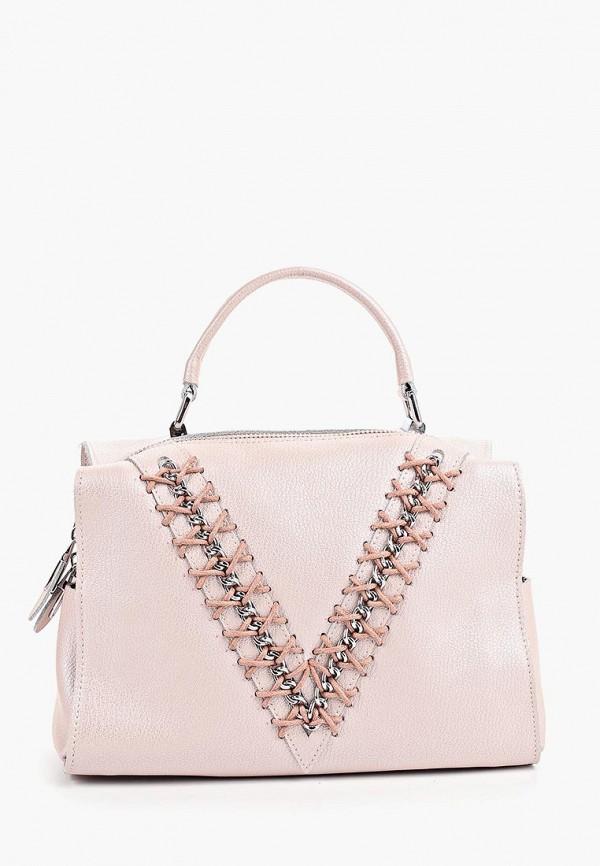 женская сумка labella vita, розовая