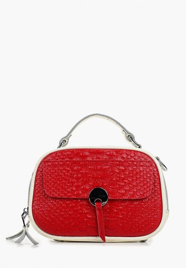 женская сумка labella vita, красная