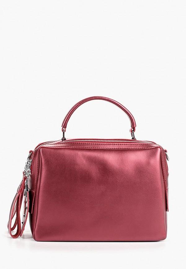 женская сумка labella vita, бордовая