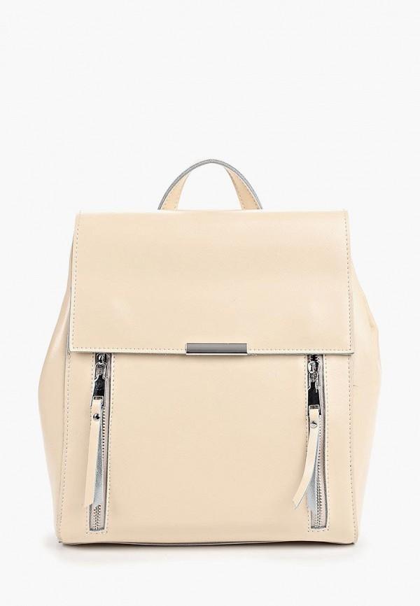 женский рюкзак labella vita, бежевый