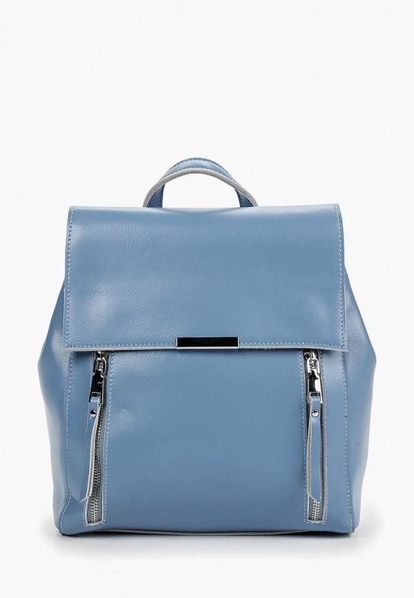 женский рюкзак labella vita, голубой
