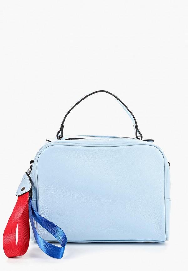 женская сумка labella vita, голубая
