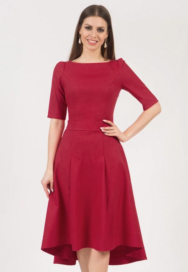 женское платье миди olivegrey, красное