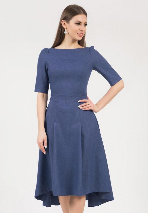 женское платье миди olivegrey, синее