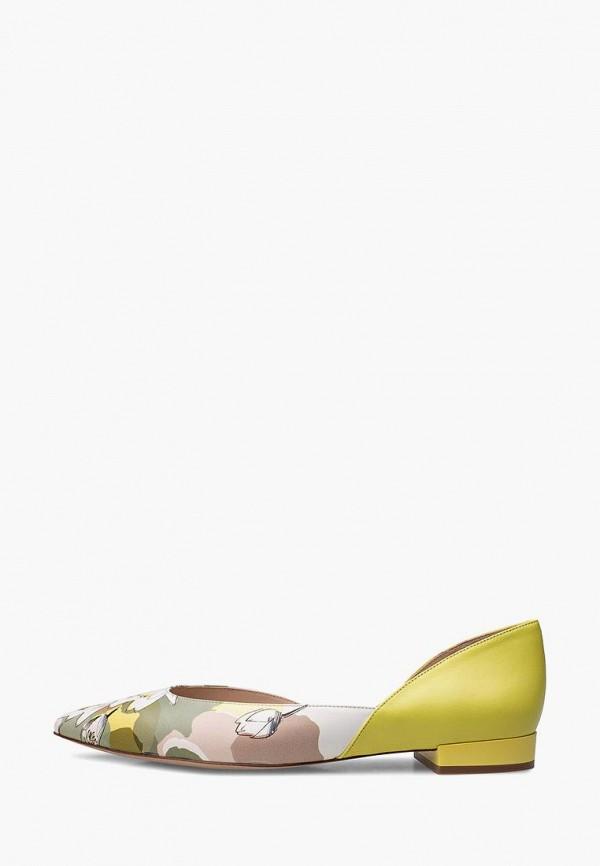 Балетки с острым носом Эконика