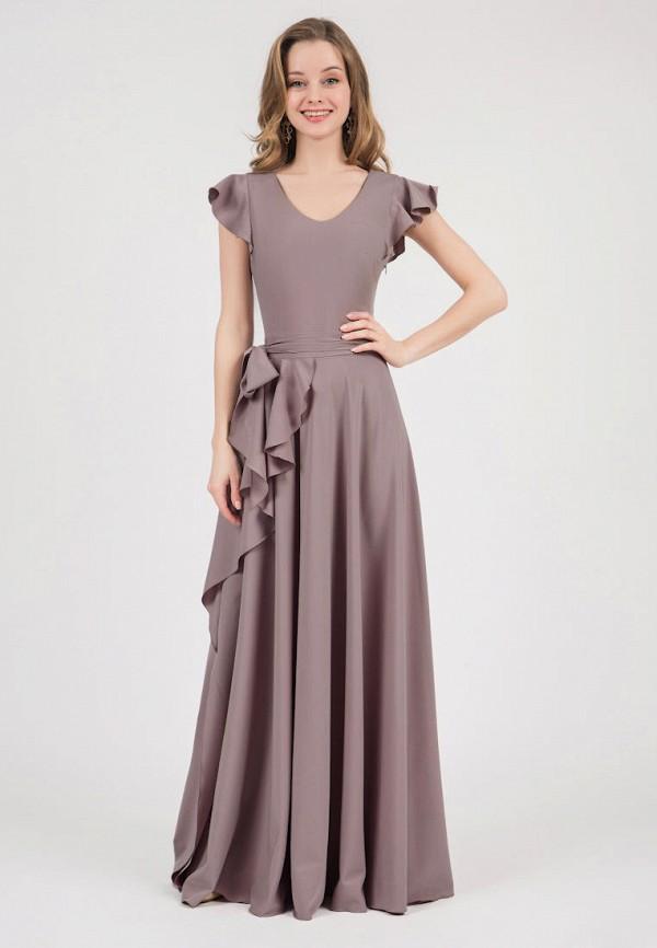 женское вечерние платье marichuell, коричневое