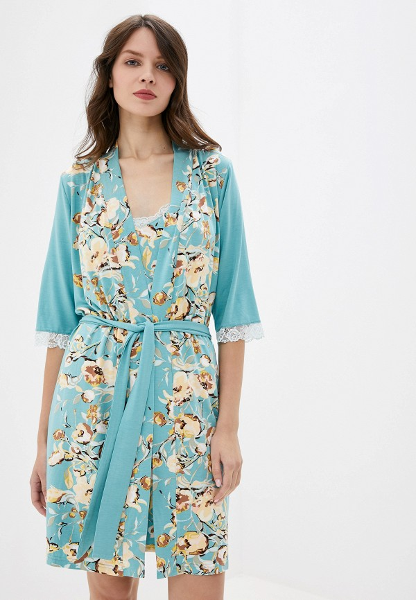 Халат домашний Lika Dress Lika Dress MP002XW0YIS9 халат домашний lika dress lika dress mp002xw1hu0r