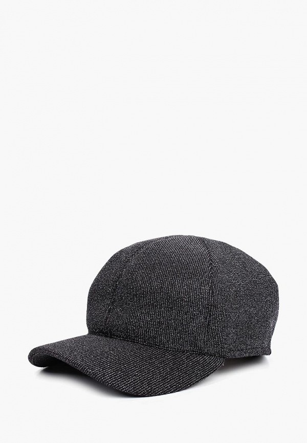 женская бейсболка forti knitwear, черная