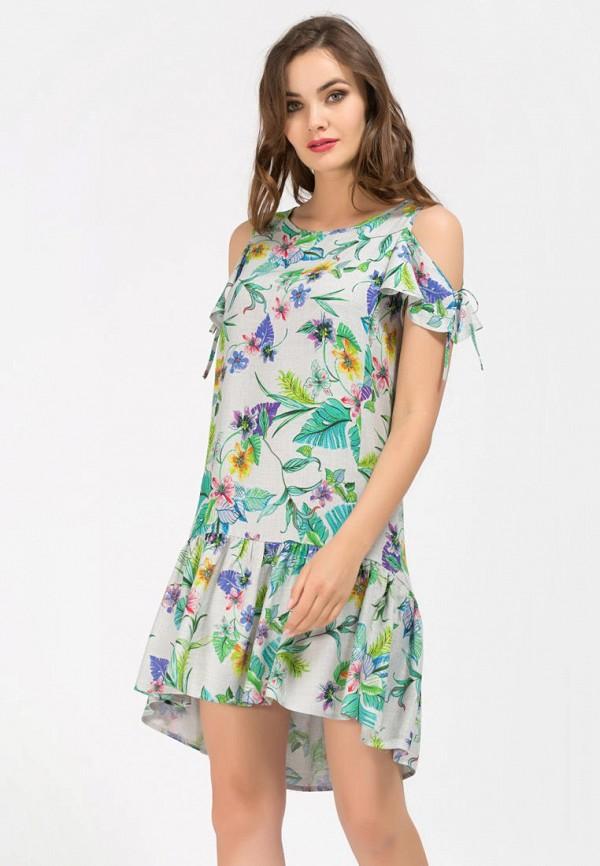 женское платье remix, серое