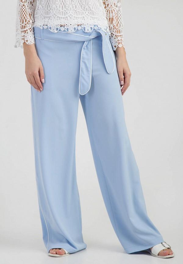 женские повседневные брюки das, голубые