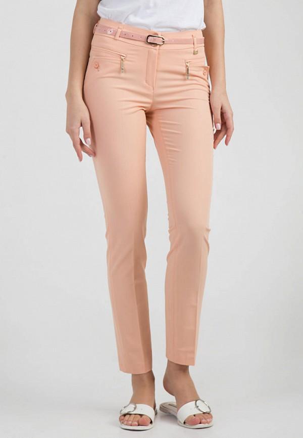 женские классические брюки das, оранжевые