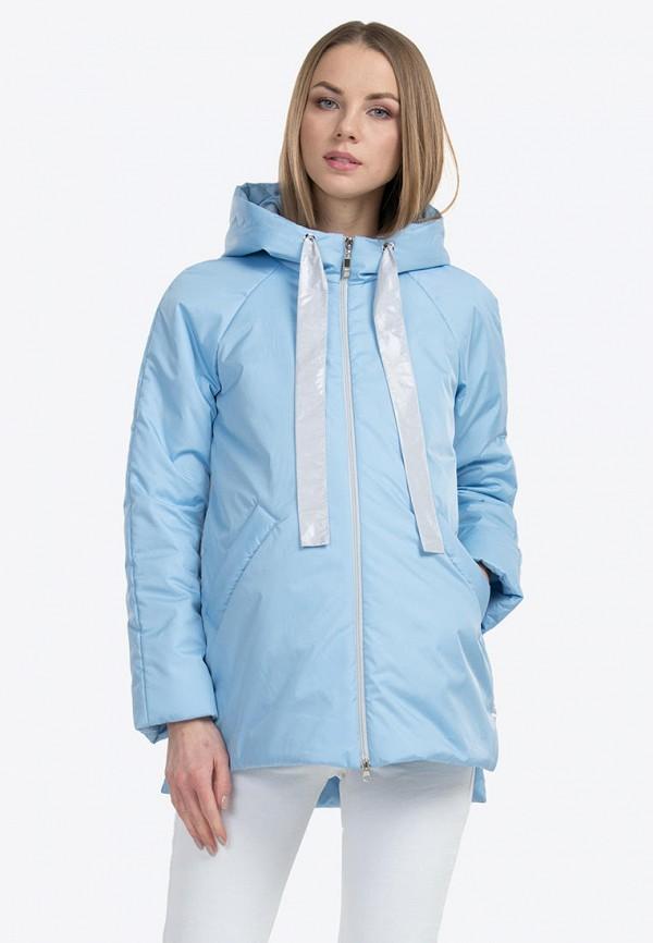 женская куртка modress, голубая