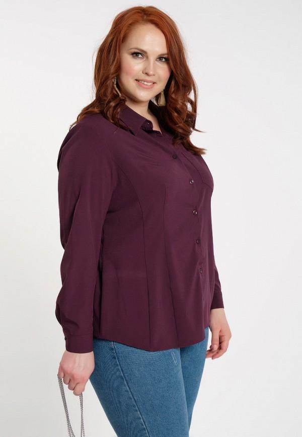 женская блузка dora, фиолетовая
