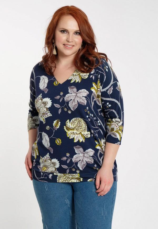 женская блузка dora, синяя