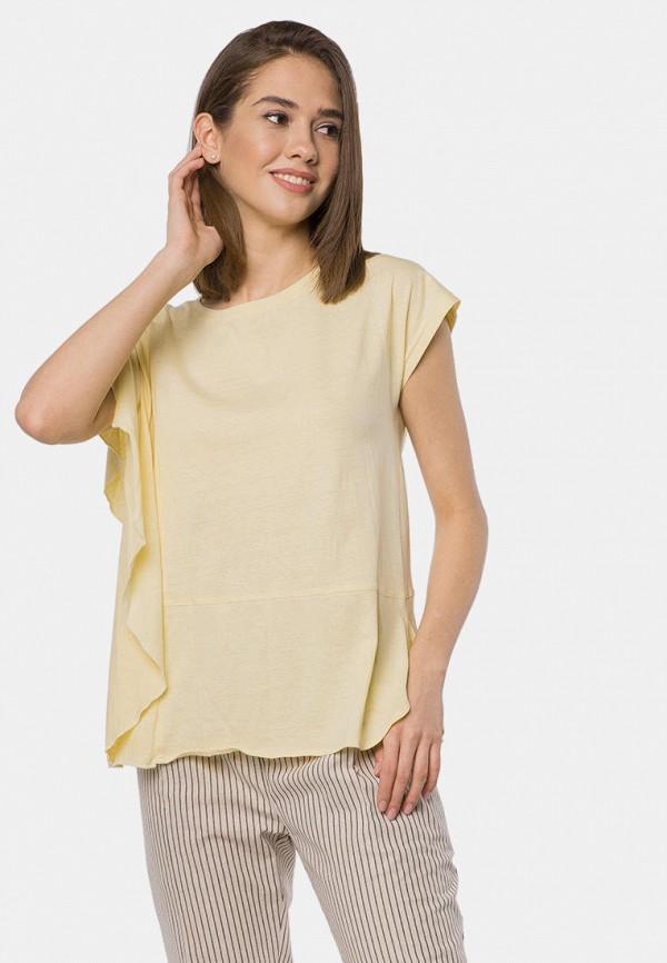 женская футболка mr520, желтая