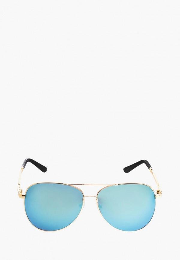 женские солнцезащитные очки pretty mania, золотые