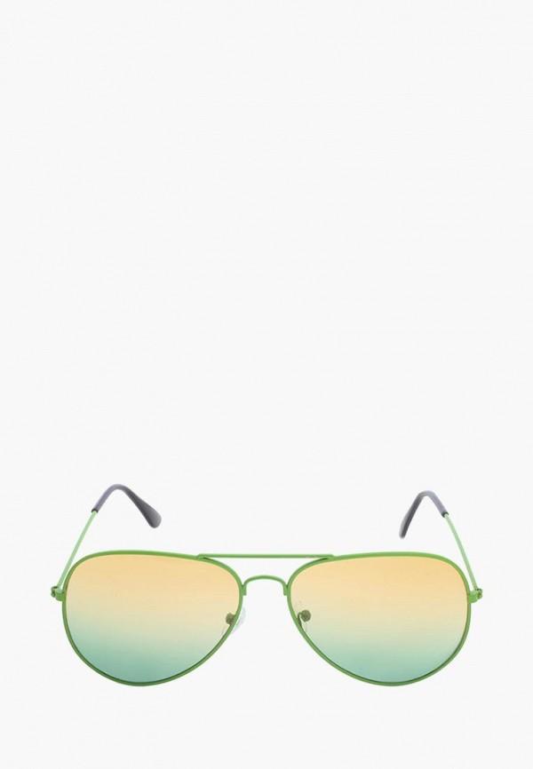 женские солнцезащитные очки pretty mania, зеленые