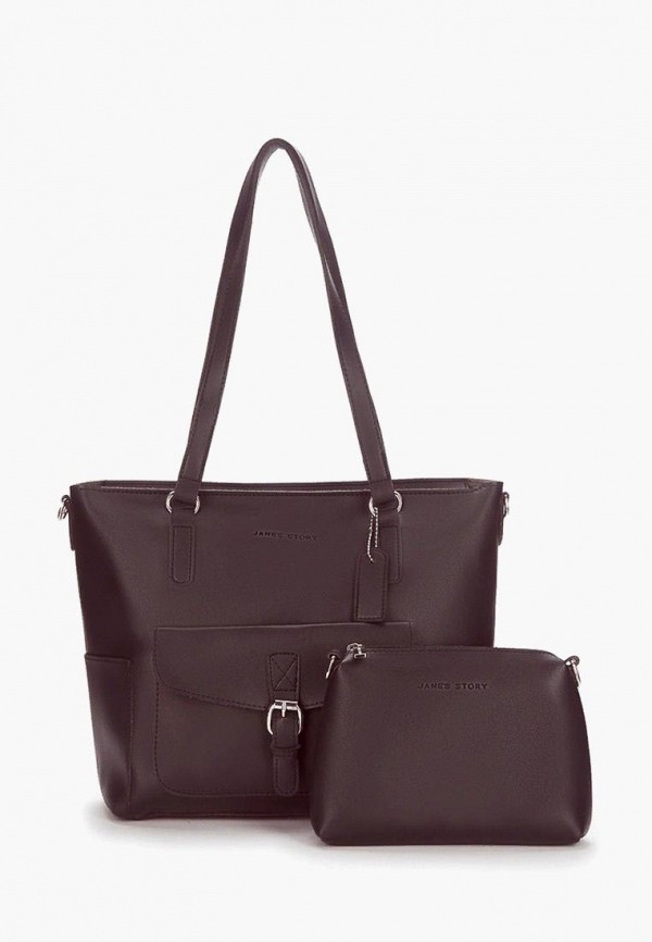 женская сумка-шоперы jane's story, фиолетовая