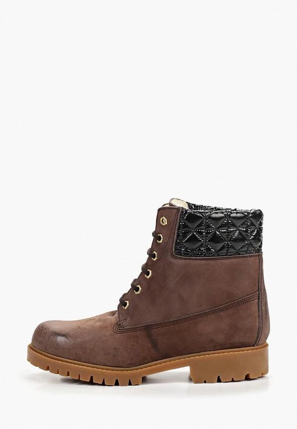 женские ботинки enzo logana, коричневые