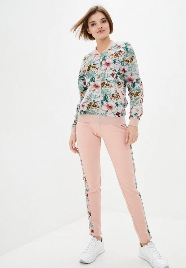 женский спортивный костюм ora, розовый
