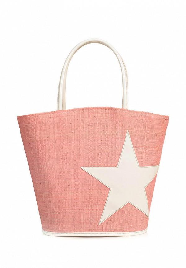 женская сумка le comptoir de la plage, розовая