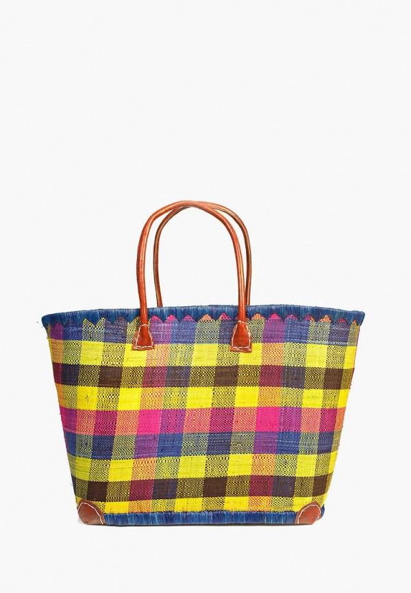 женская сумка le comptoir de la plage, разноцветная