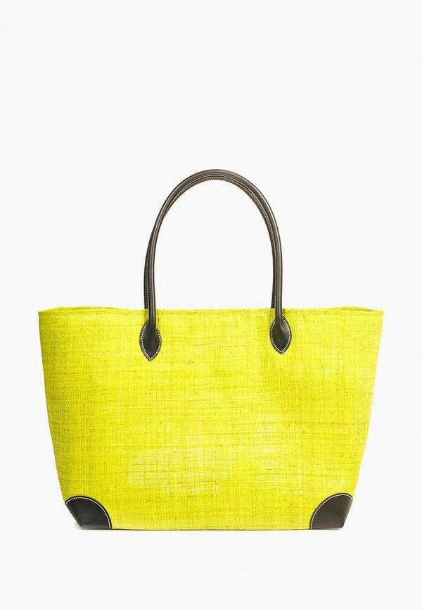 женская сумка le comptoir de la plage, зеленая