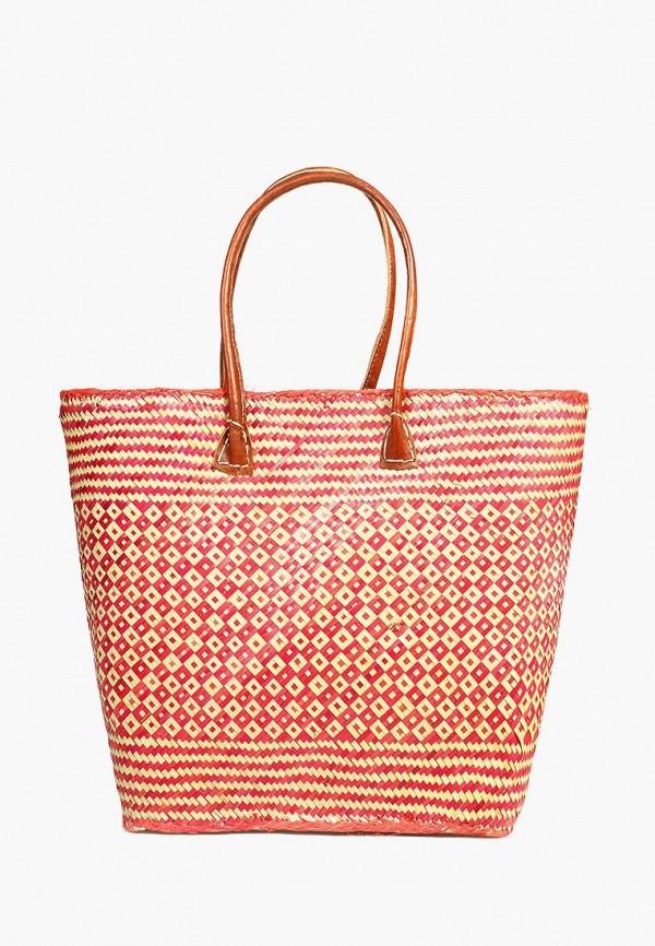 женская сумка le comptoir de la plage, красная