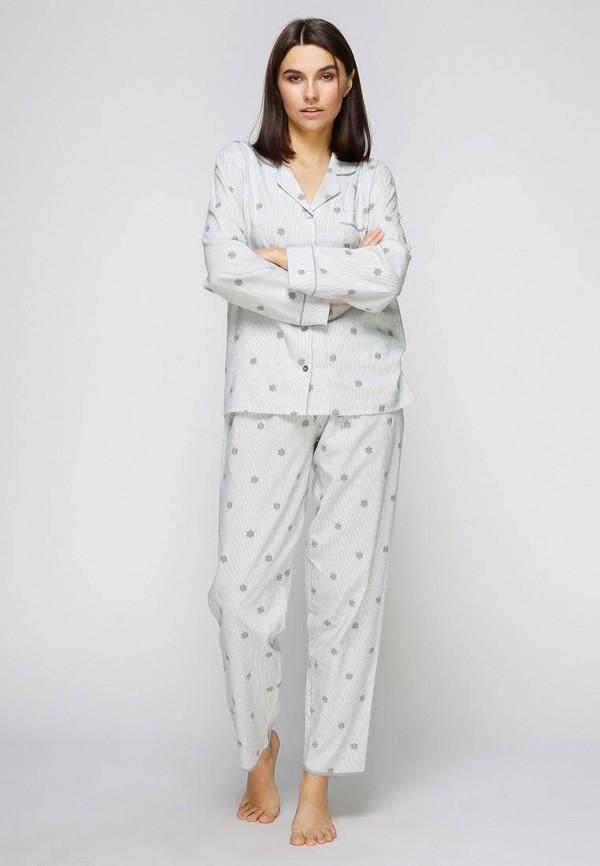 женская пижама cyberjammies, серая